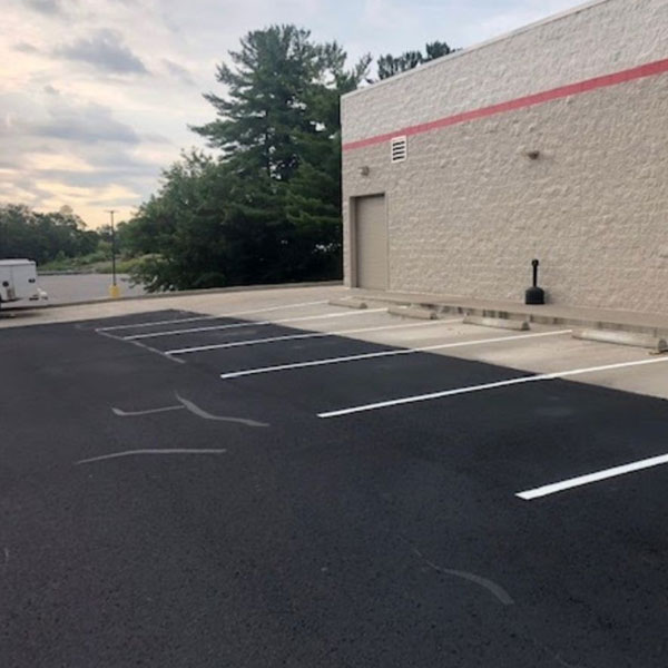 Parking Lot Resurfacing Services by SERVCON